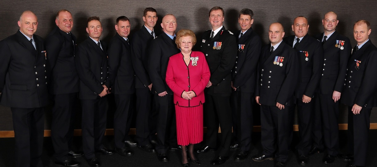 Image of the Lord-Lieutenant at an event