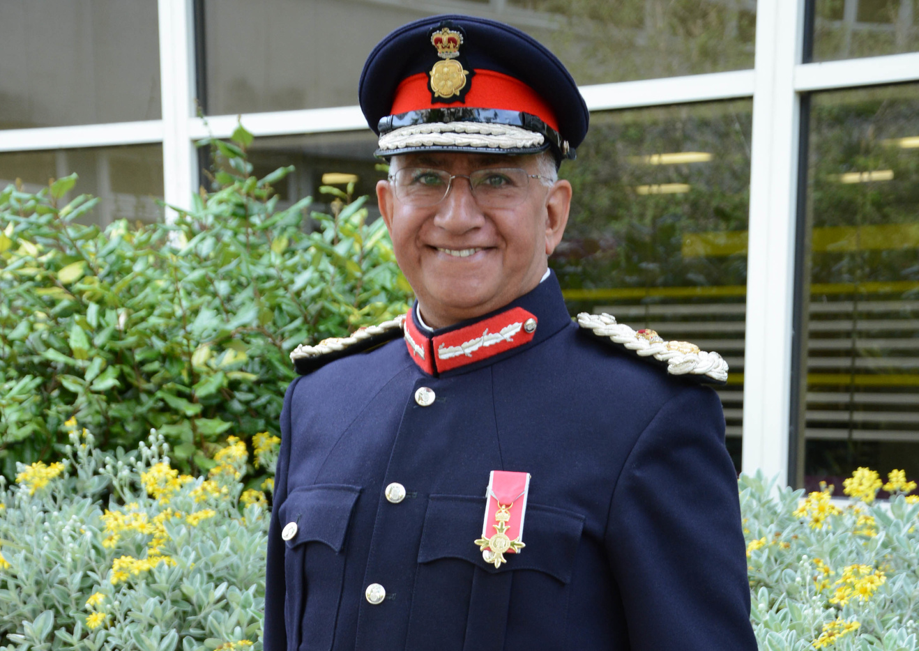 Lord Lieutenant Mike Kapur