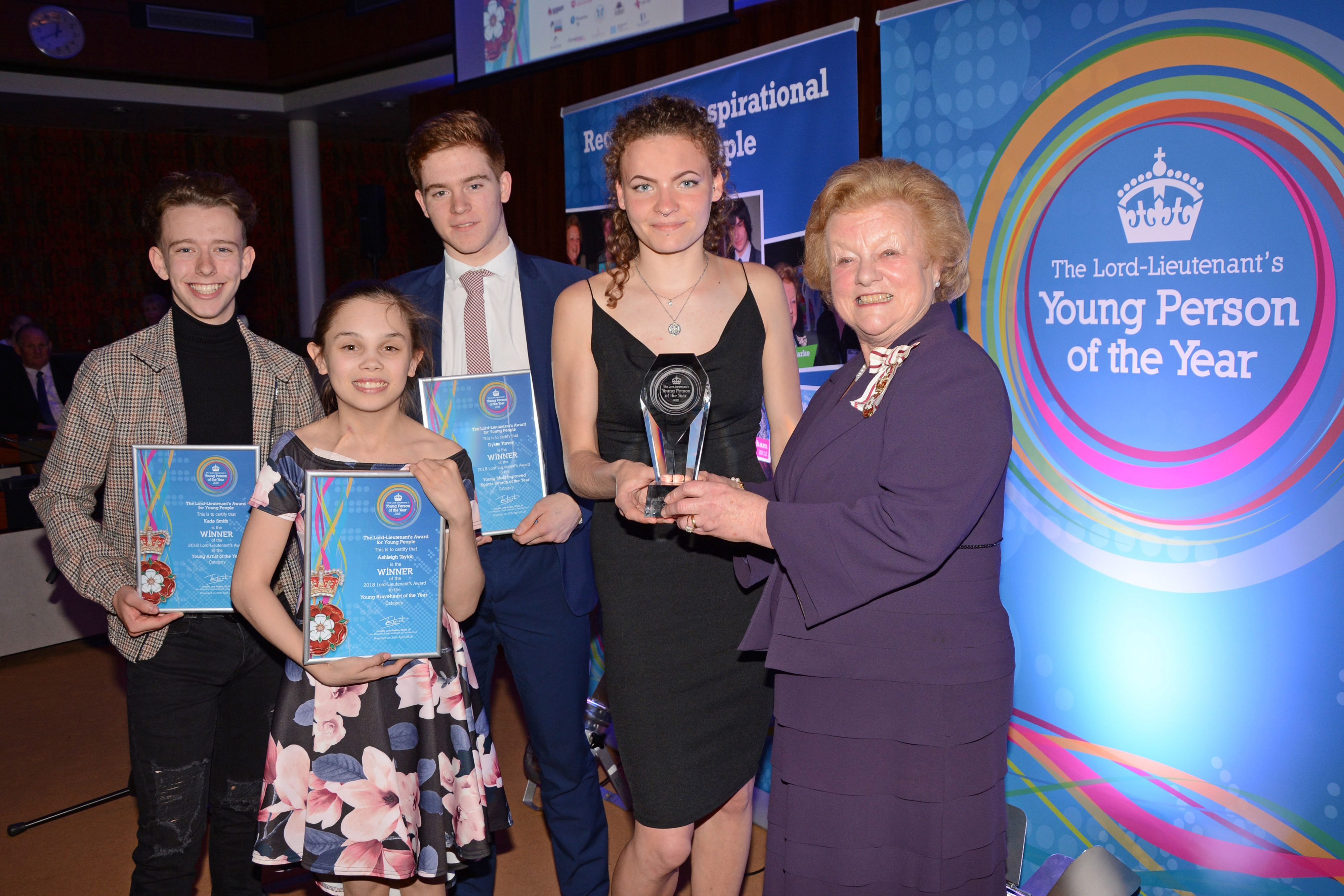 Lord Lieutenant's Awards winners
