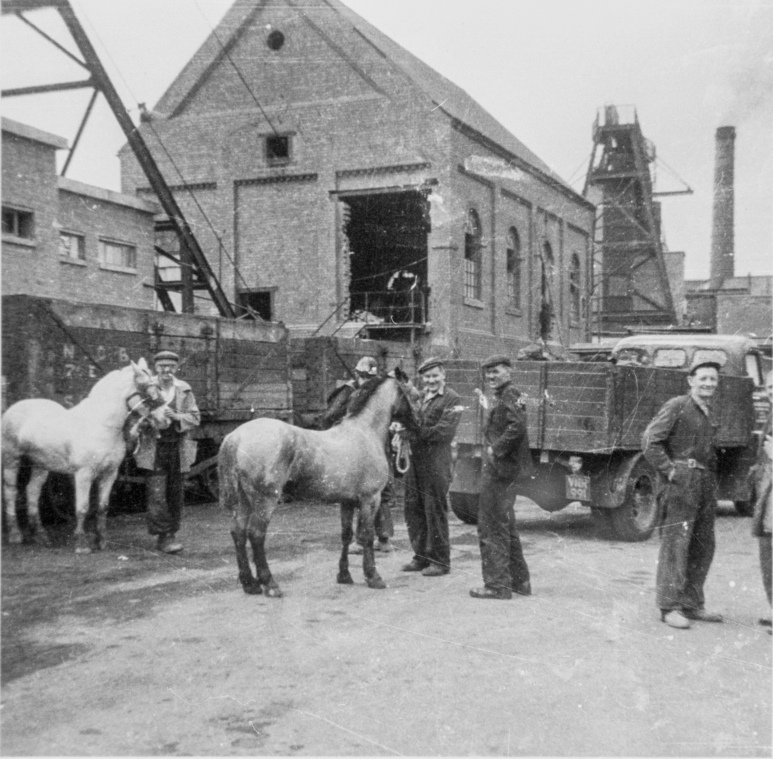 Snibston Colliery in a bygone era