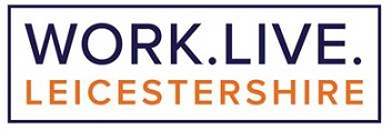 Work Live Leicestershire logo