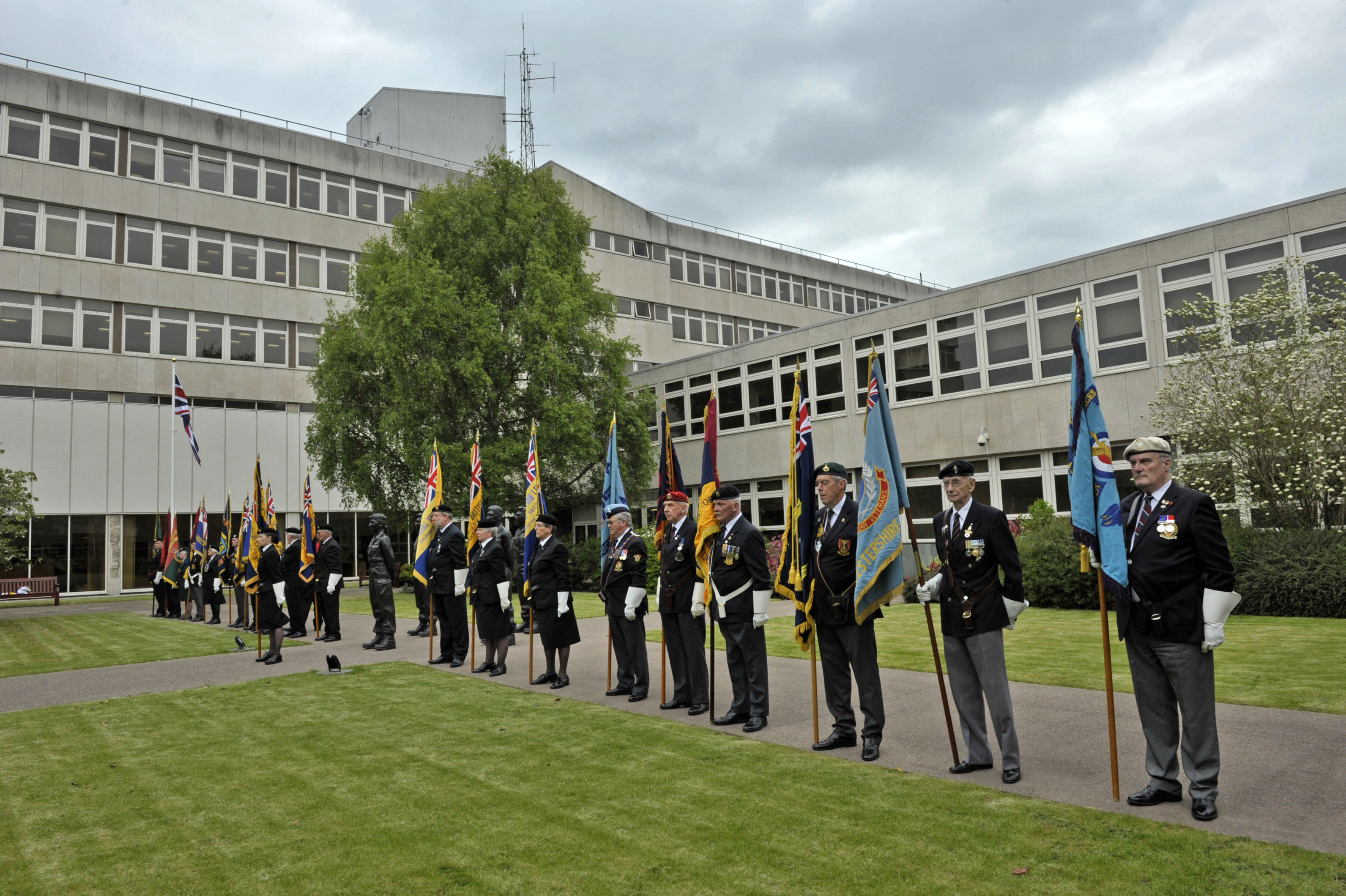 Image of Armed Forces Day remembrance 2015