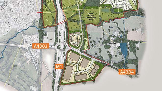 Lutterworth East planning application