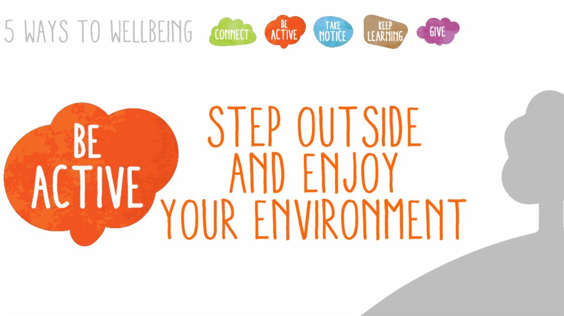 Five ways to wellbeing campaign artwork