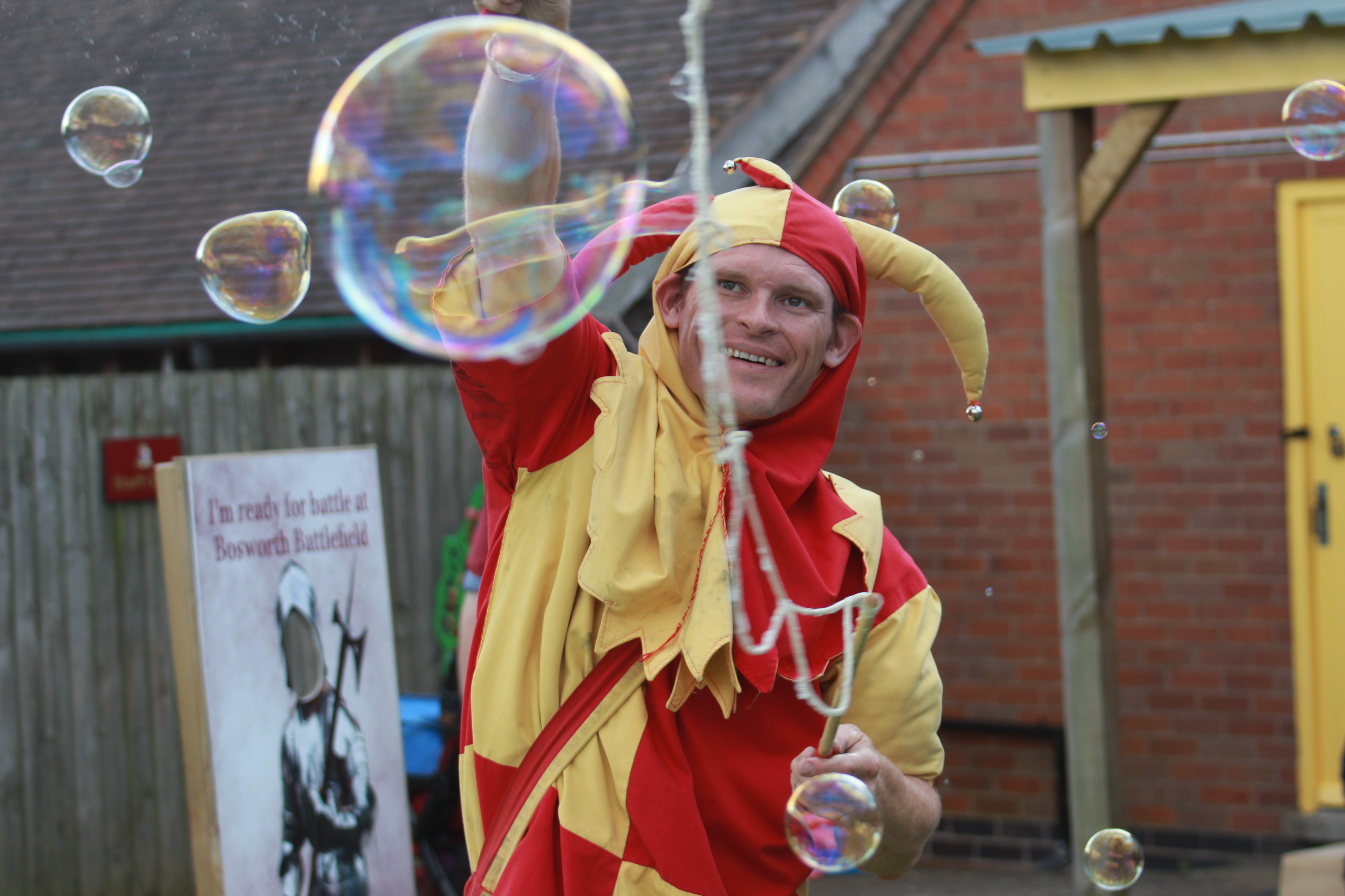 Jester at Bosworth