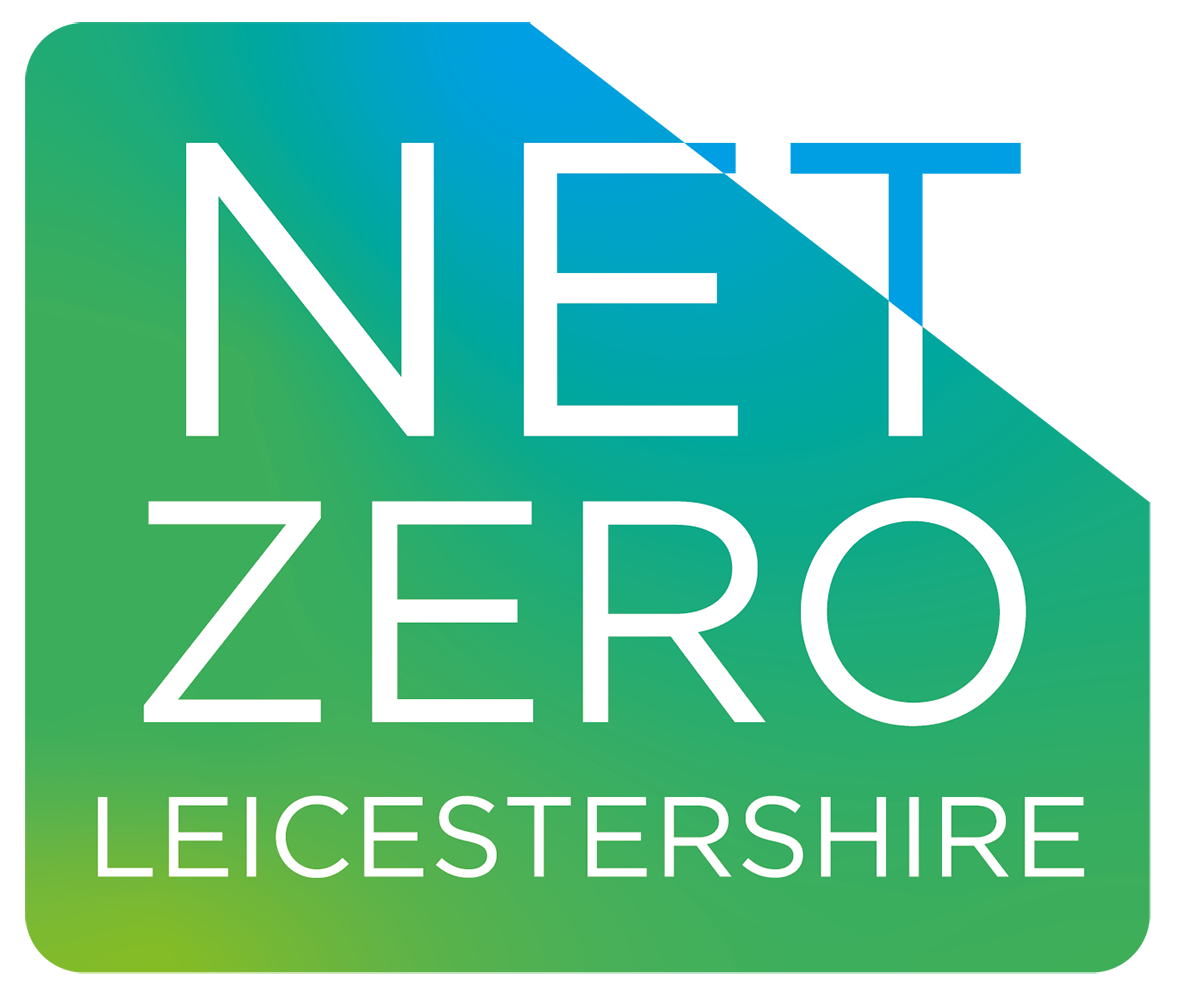 Net zero Leicestershire logo