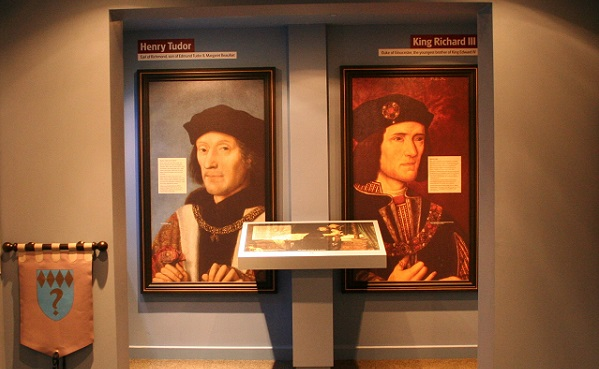 Portraits of Henry Tudor and King Richard III