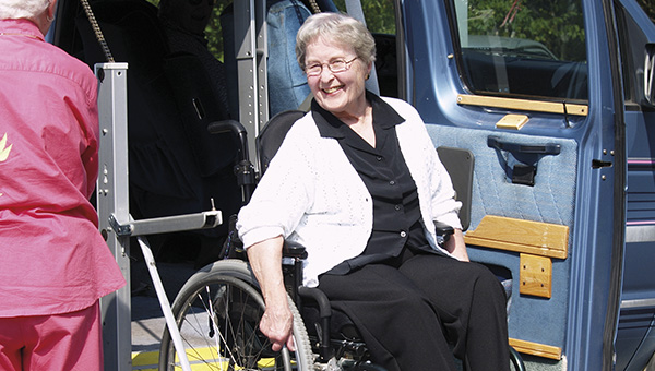 Image for transport for older people