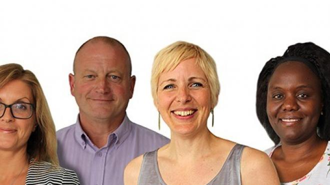 Our team of Local Area Co-ordinators