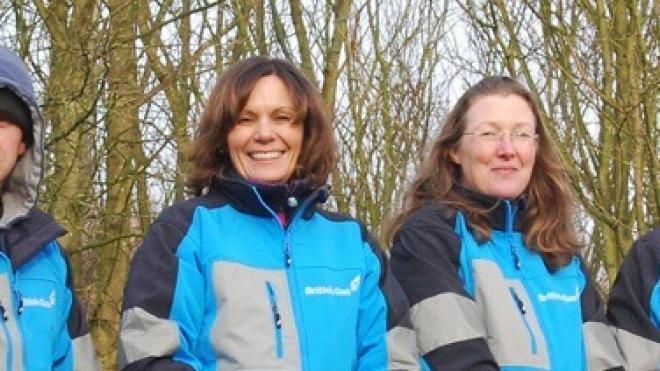 Volunteers on their organisation's away day