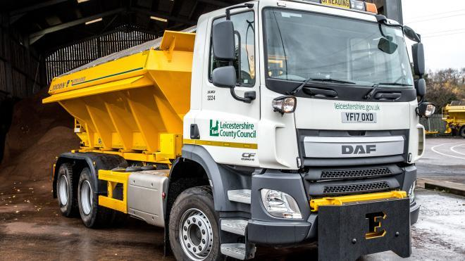 The county council's new gritter needs a name
