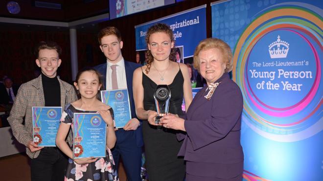 Lord-Lieutenant's Awards winners