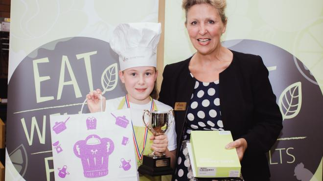 Isabella Rackham-Sayer was crowned Junior Chef of the Year 2018