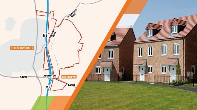 Lutterworth East housing plan
