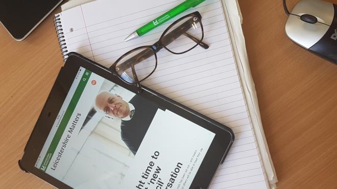 Digital newsletter news