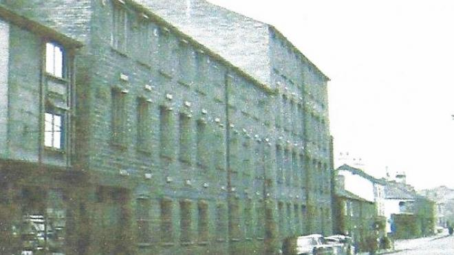 Heathcoat and Boden lace factory, Loughborough