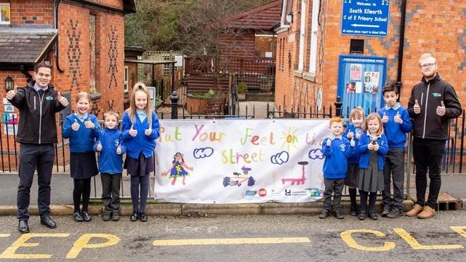Kilworth C of E Primary School supports active travel scheme