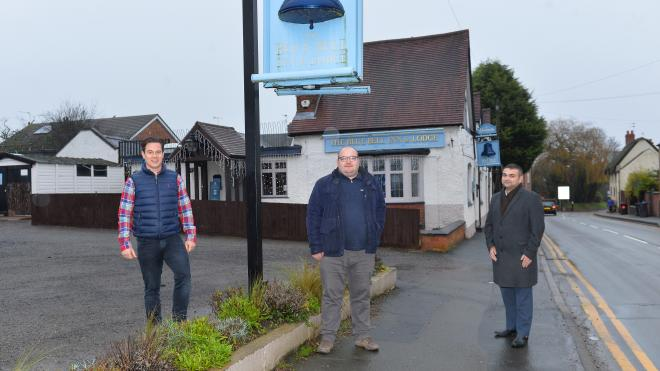 Bluebell Desford pub support