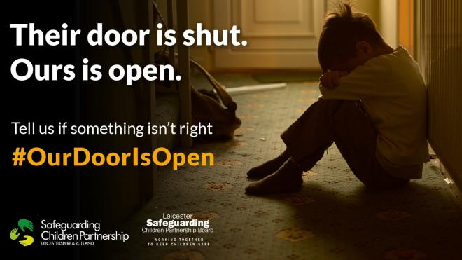 Our door is open campaign picture
