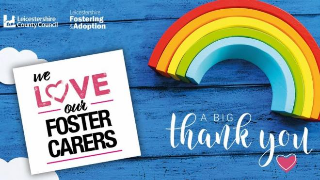 Thank you to foster carers image