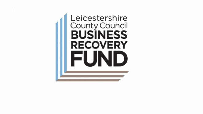 logo of the Leicestershire Business Recovery Fund