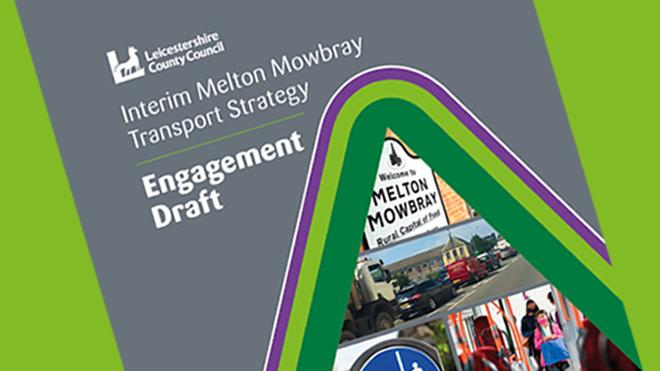 Front cover of Melton Mowbray Transport Strategy