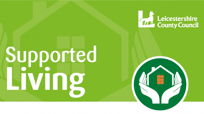 Supported living logo