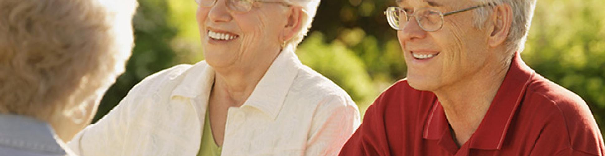 Image of older people enjoying life