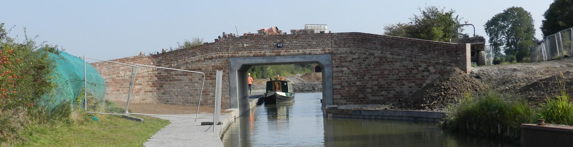 Bridge 62, Ashby Canal, Snarestone