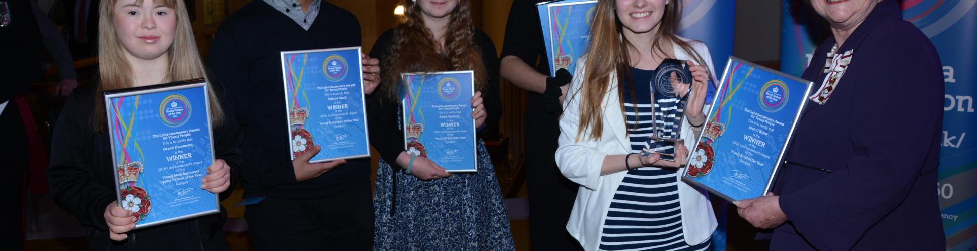 2016 Lord Lieutenant Award winners