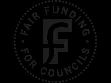 Fair funding logo