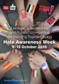 Hate Awareness Week poster
