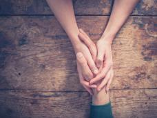 Shared Lives hands