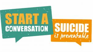 Stop suicide poster