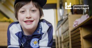 Leicestershire foster child