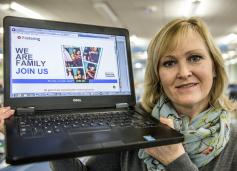 County council launches new look fostering website