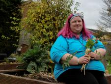 oanne McGlynn, from Barwell, took part in a community kitchens project
