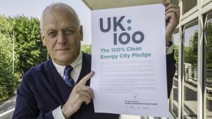 Nick Rushton signs climate pledge