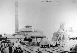 An old picture of Snibston Colliery