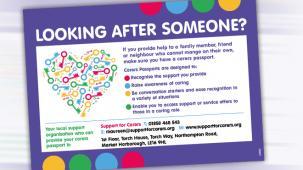 Leaflet promoting county council scheme