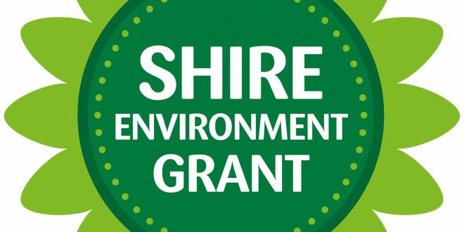 SHIRE environment grant logo