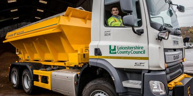 New gritters have been added to Leicestershire County Council's fleet
