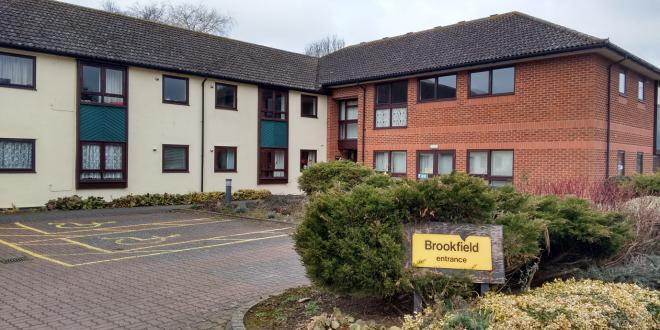 Brookfields has been sold to the county council due to a lack of demand for flats