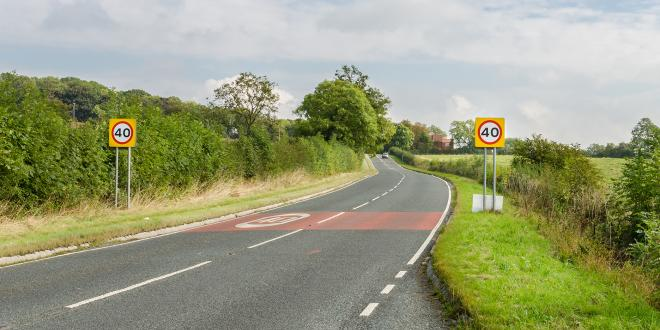 Speed cameras in Leicestershire