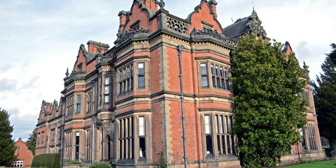 Beaumanor Hall exterior shot