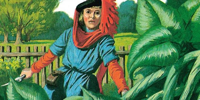 Image from Jack and the Beanstalk Ladybird Book