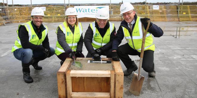 Topping out ceremony held on the building of The Access Group's new headquarters