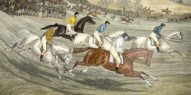 The Northampton steeplechase 1840