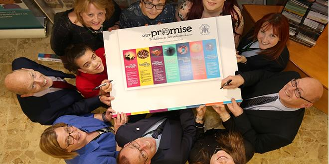 Care leavers and officers with promise