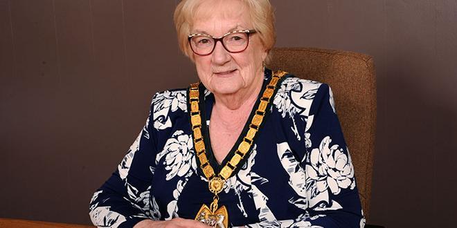 County Council Chairman Pam Posnett